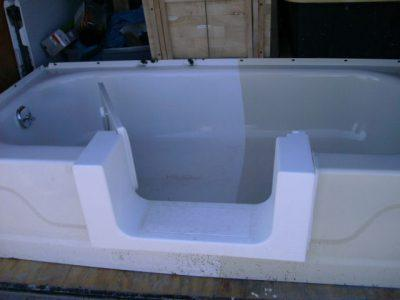 Tub Cut Out Modification